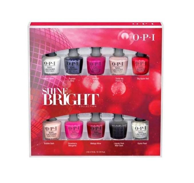 OPI Holiday 2020 Shine Bright Collection, Nail Lacquer Nail Polish