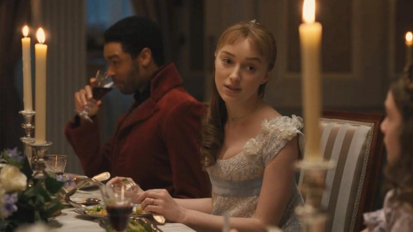 Bridgerton' Sneak Peek: The Duke and Bridgerton Family Try to Guess Who Is  Lady Whistledown! (Exclusive) | Entertainment Tonight