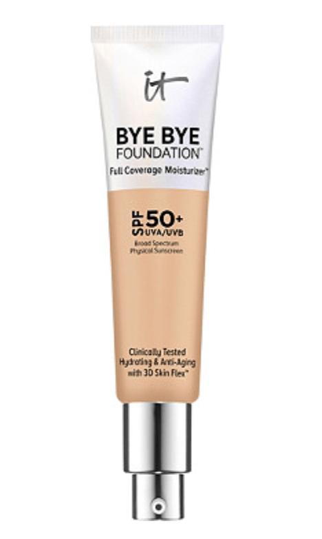 It Cosmetics Bye Bye Foundation Full Coverage Moisturizer with SPF 50+