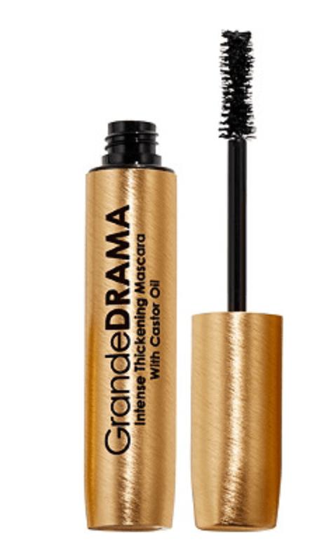 Grande Cosmetics GrandeDRAMA Black Intense Thickening Mascara with Castor Oil