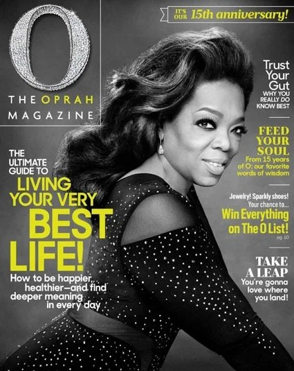 Oprah Winfrey S O Magazine Turns 15 Here Are The 7 Most