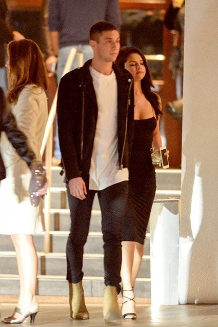 EXCLUSIVE PICS Selena Gomez and Samuel Krost Spotted