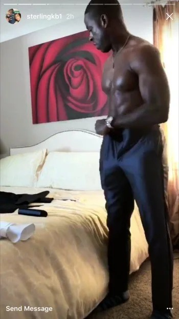 This Is Us Star Sterling K Brown Shows Off His Abs