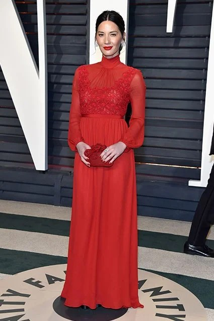 The Best Worst and Most Revealing Dresses at the Vanity Fair Oscars AfterParty Pics