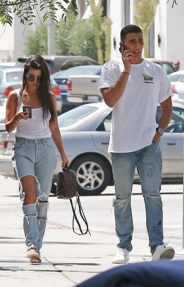 EXCLUSIVE: Kourtney Kardashian 'Having Fun' with Model ...