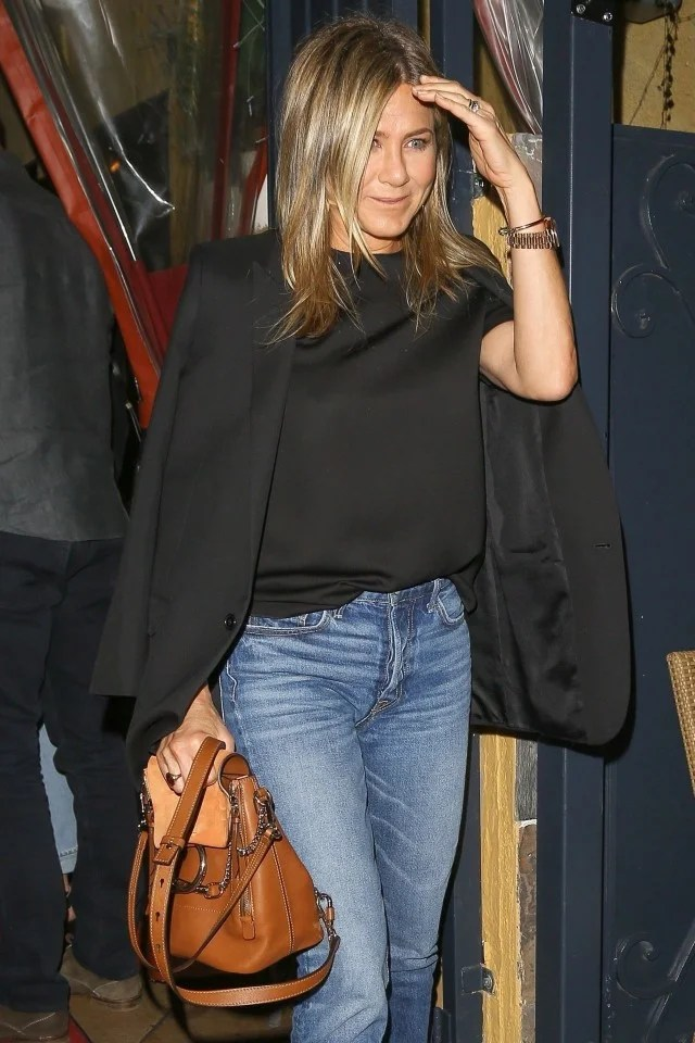 Jennifer Aniston Joins Sandra Bullock and Bryan Randall