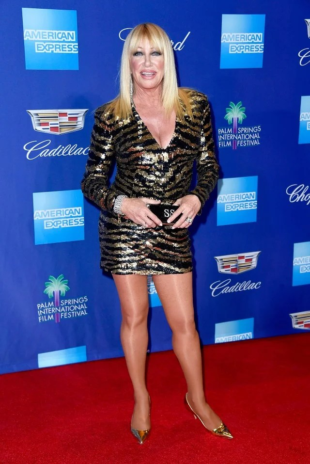 Suzanne Somers in a Balmain MiniDress at 71 Will Make You Want to Go Take Some Vitamins Stat