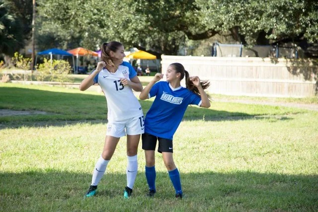 Watch Soccer Superstar Alex Morgan Make Her Acting Debut
