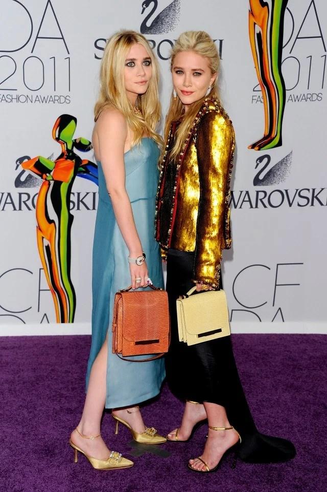 Mary-Kate and Ashley Olsen CFDA Awards 2011