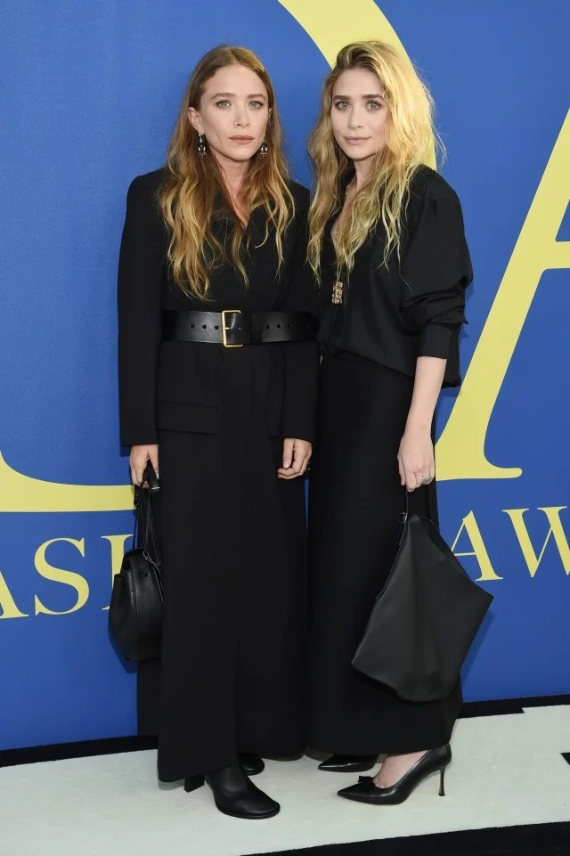 Mary-Kate and Ashley Olsen at 2018 CFDA Fashion Awards