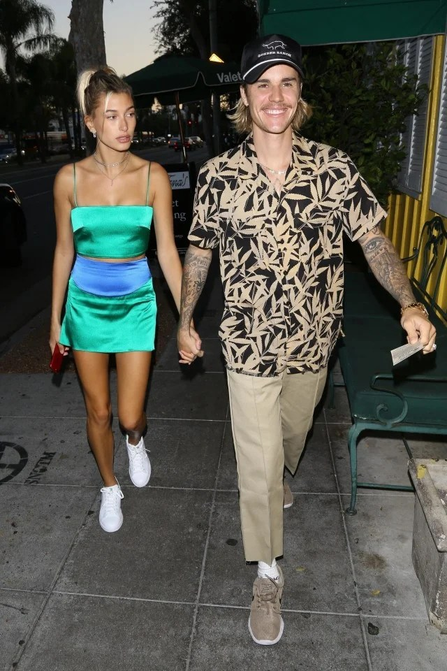 Justin Bieber Cant Stop Smiling On Date With Hailey