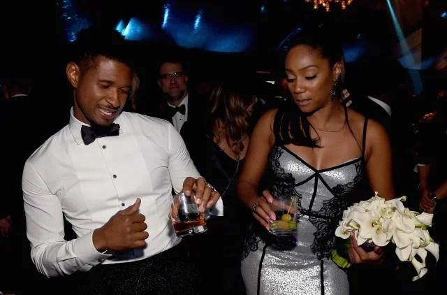 Tiffany Haddish and Usher