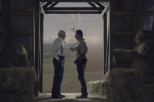 The Walking Dead, Rick and Hershel