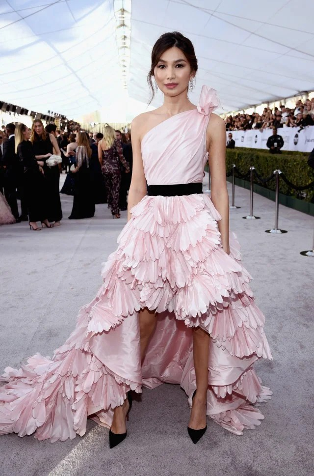 Gemma Chan at the 25th Annual Screen Actors Guild Awards
