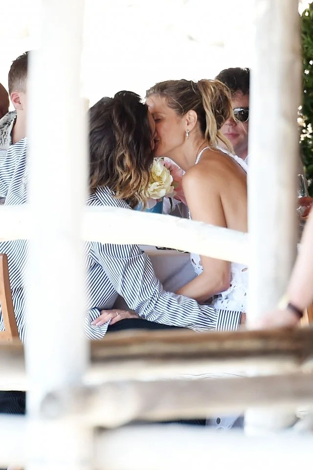 Heidi Klum Packs on PDA With Husband Tom Kaulitz While