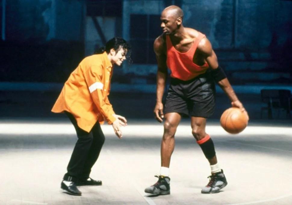 Michael Jackson, Michael Jordan