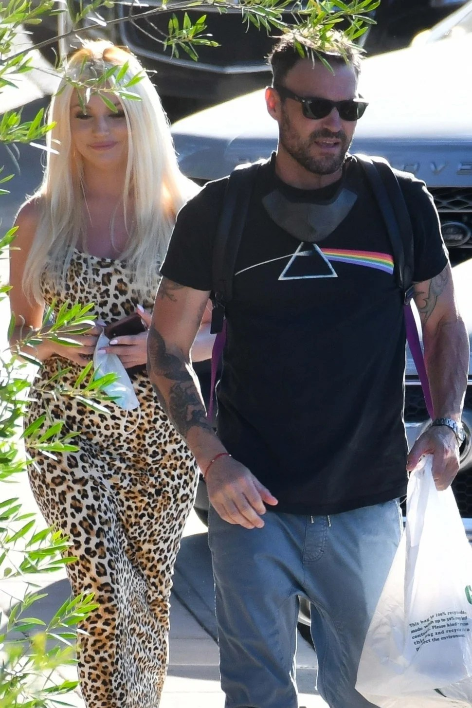 Brian Austin Green Spotted With Courtney Stodden Following