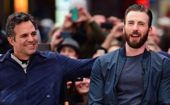 Mark Ruffalo Chris Evans Brother React To His Nsfw Photo