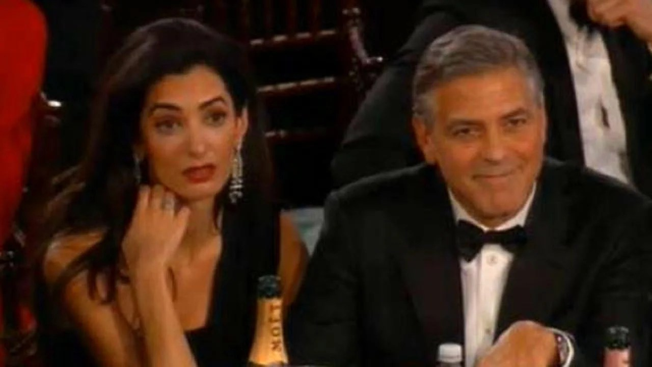 Amal Clooney Looked So Over Every Single Second Of Her