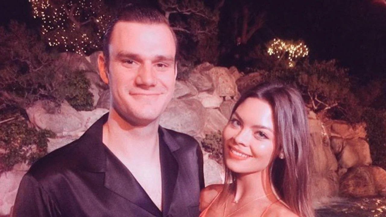 Hugh Hefners Son Cooper Engaged to Harry Potter Actress