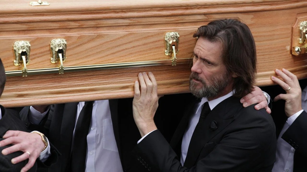 Robin Williams His Coffin