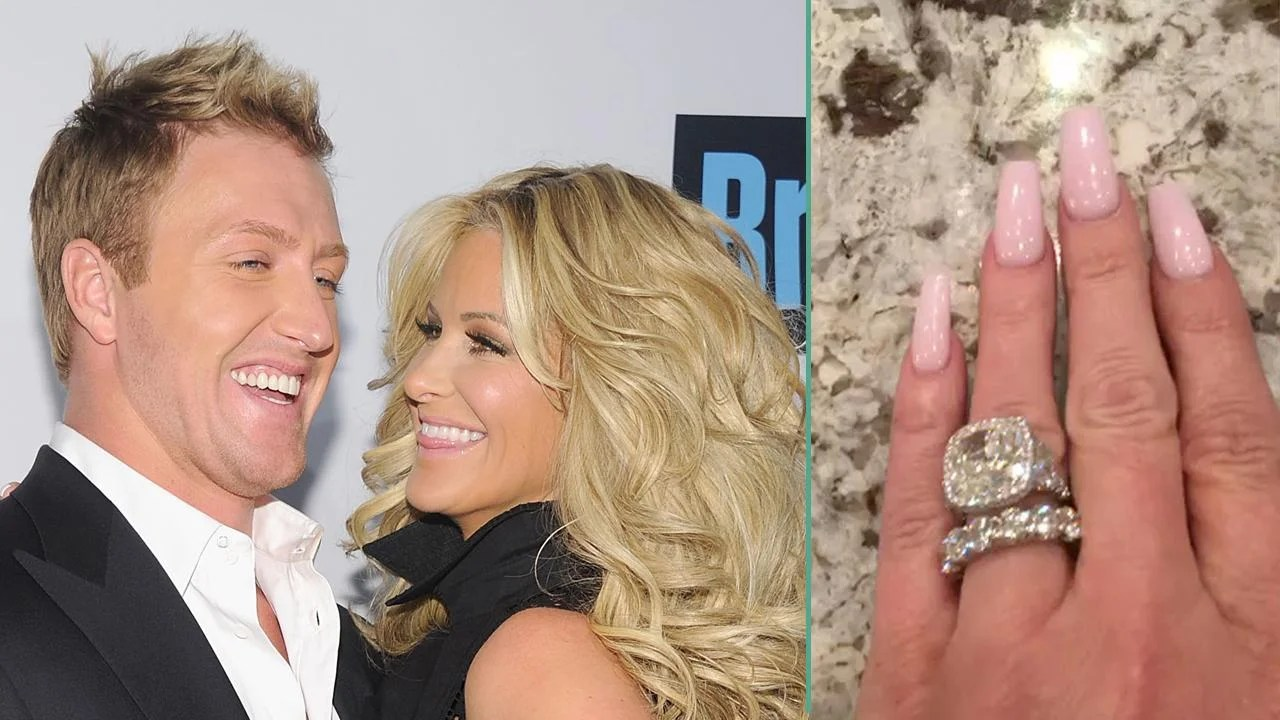 Kim Zolciak Shows Off New Diamond Ring From Husband Kroy