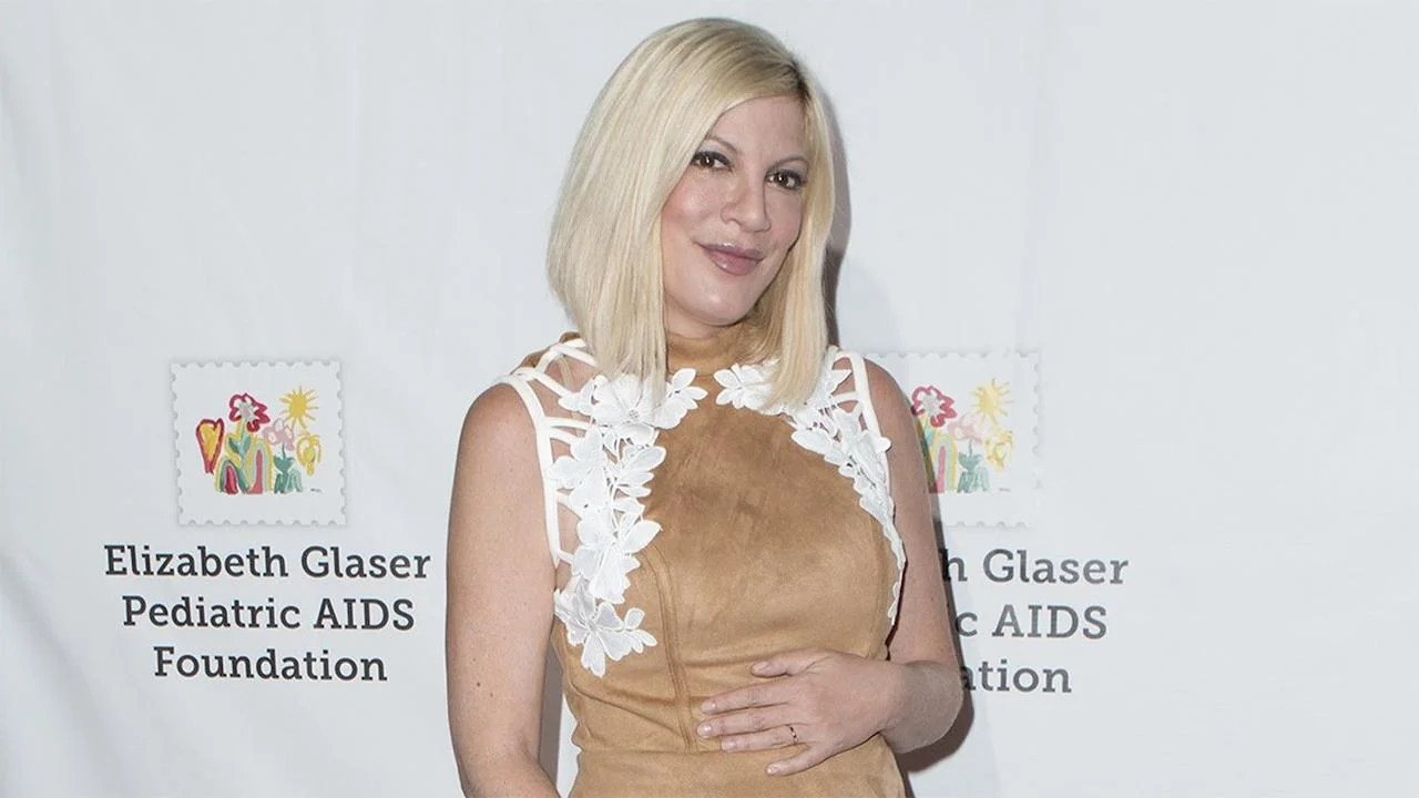EXCLUSIVE Tori Spelling Talks Her Health During Fifth Pregnancy on First Red Carpet Since the