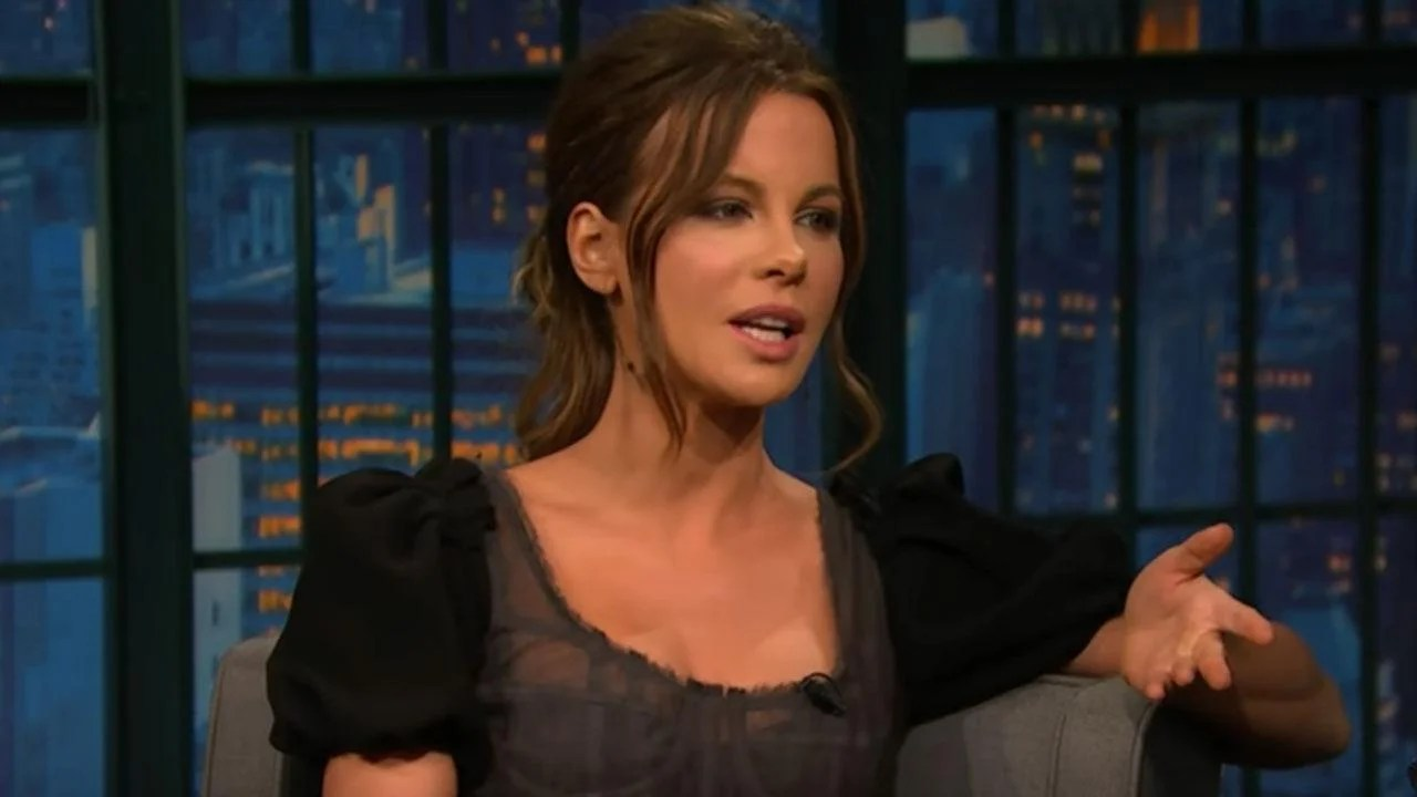 Kate Beckinsale Got Daughter Lily in Trouble After Drawing a NSFW Doodle on Her Homework