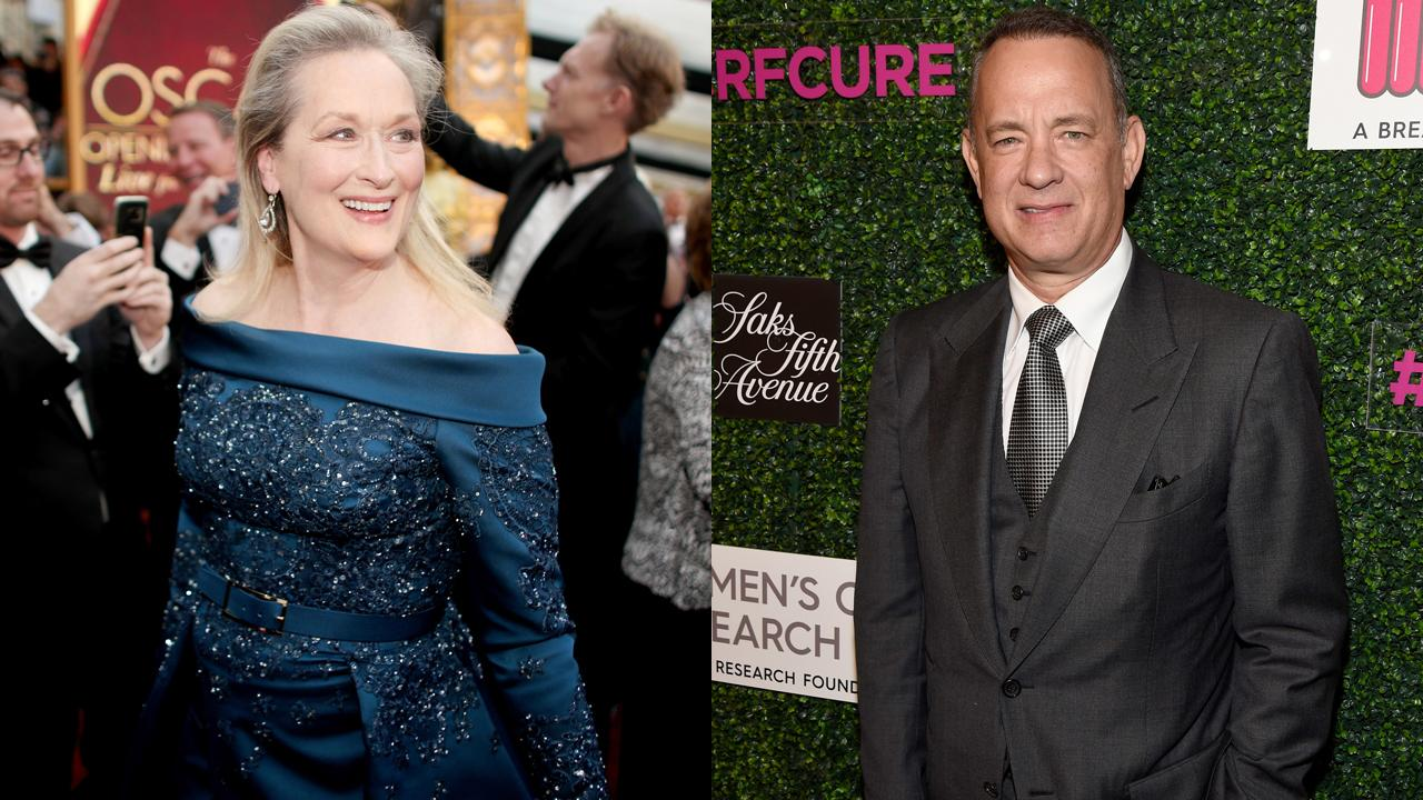 Tom Hanks and Meryl Streep to Share the Screen for the First Time in Steven Spielberg Pentagon Papers Movie | Entertainment Tonight