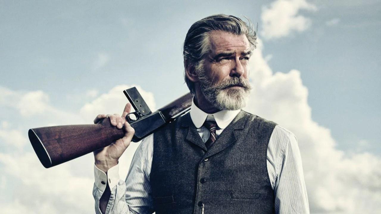 Pierce Brosnan Jokes His Wife Is Very Fond Of The Beard