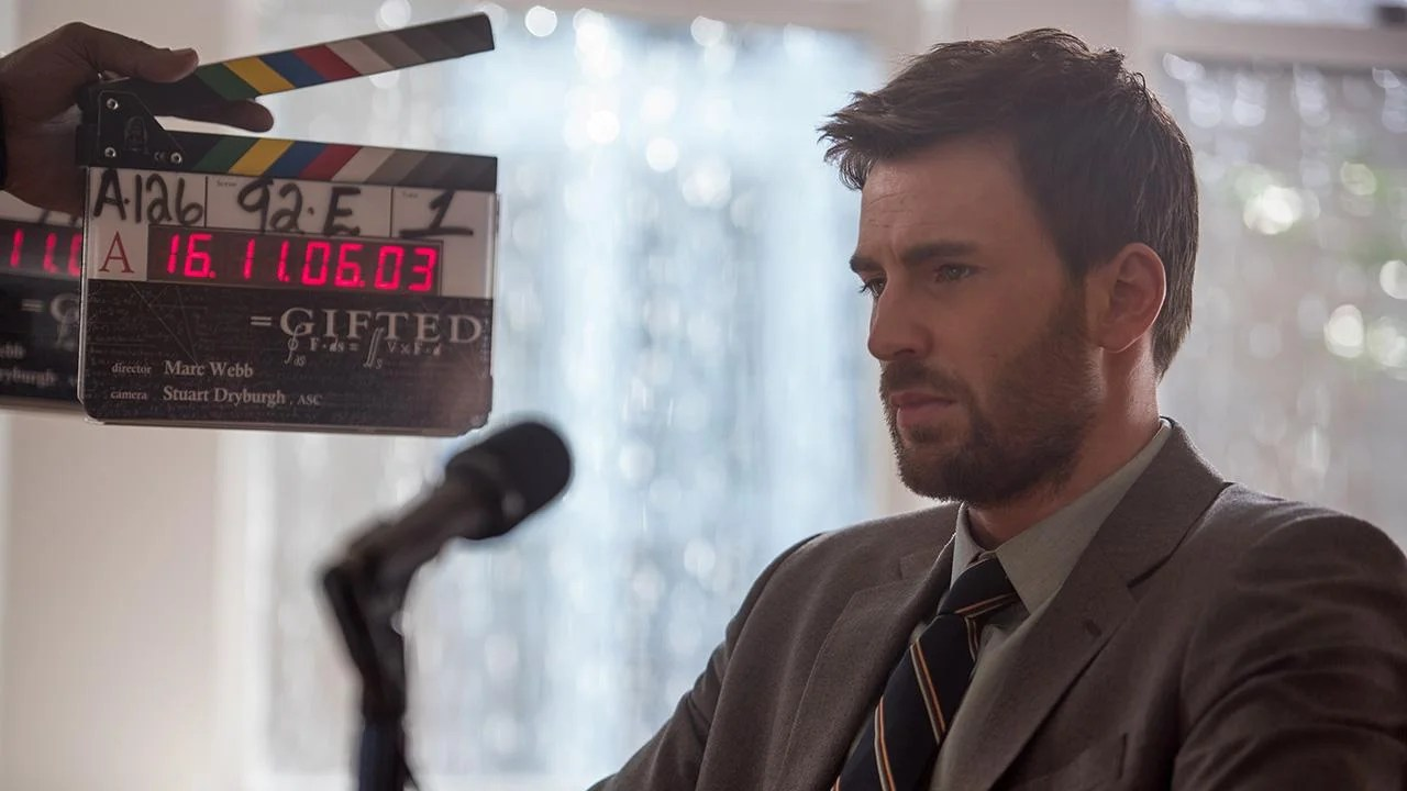 Exclusive Chris Evans Is Bearded And Brooding In Behind