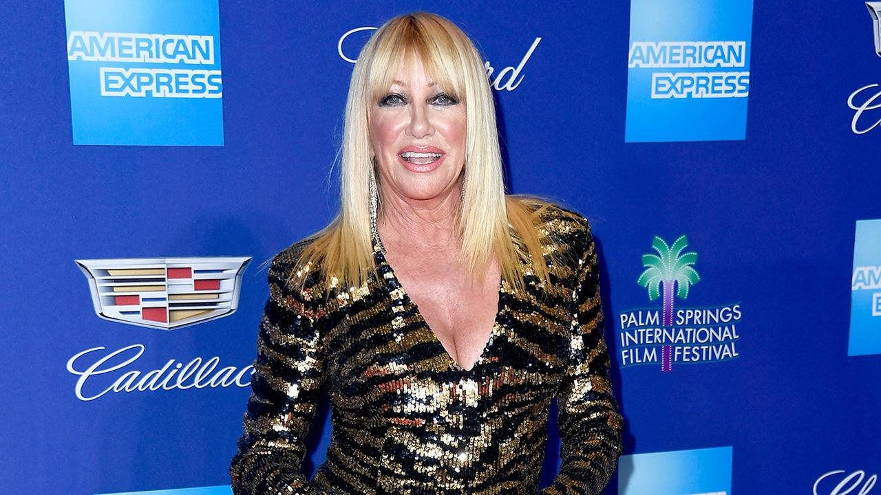 Suzanne Somers in a Balmain MiniDress at 71 Will Make You