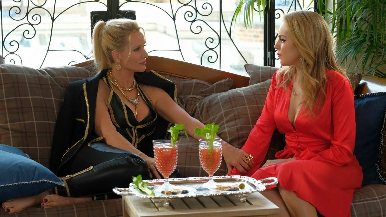 Nicollette Sheridan on Putting Her Own Stamp on Dynastys Alexis Fasten Your Seat Belts