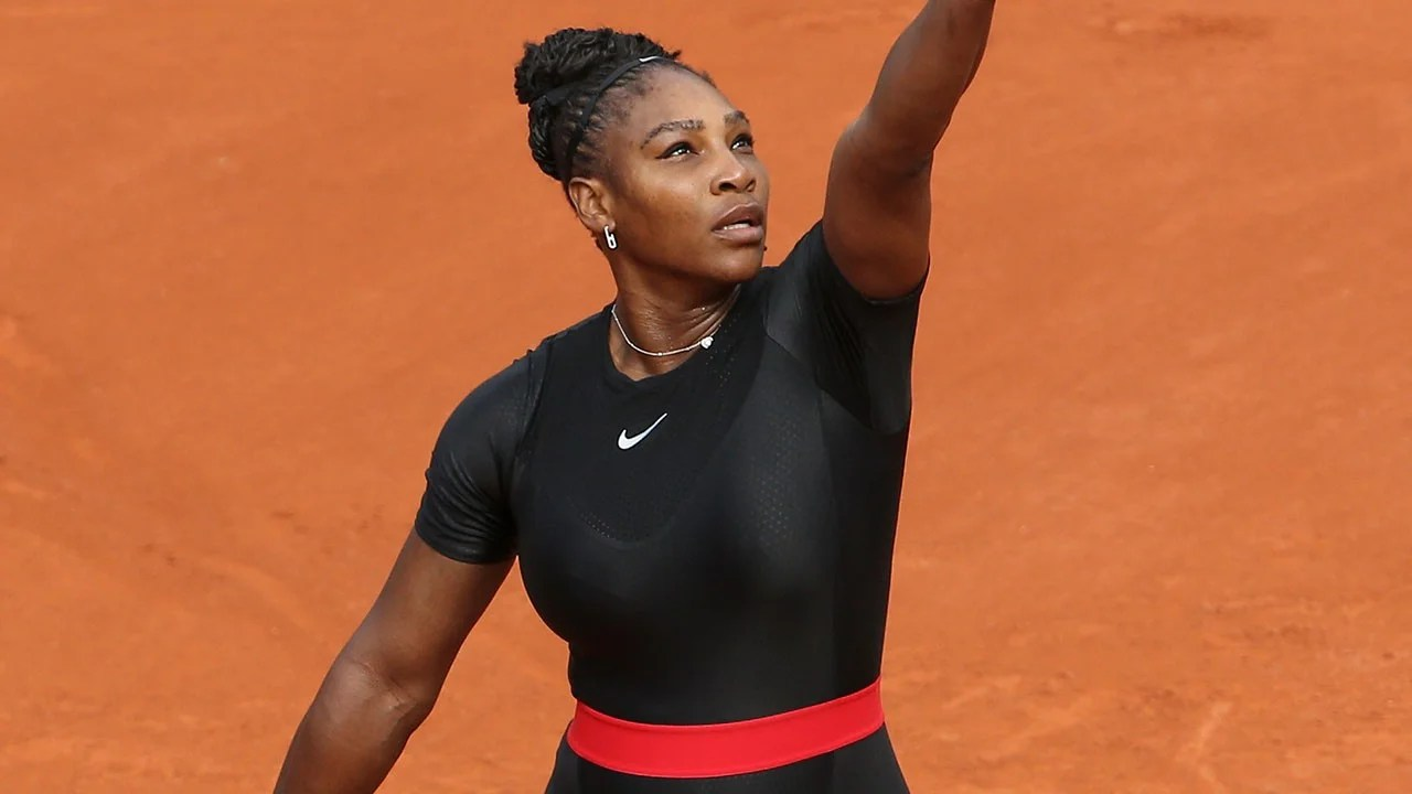 Serena Williams Speaks Out About Her Black Catsuit Being Banned at French Open  Entertainment