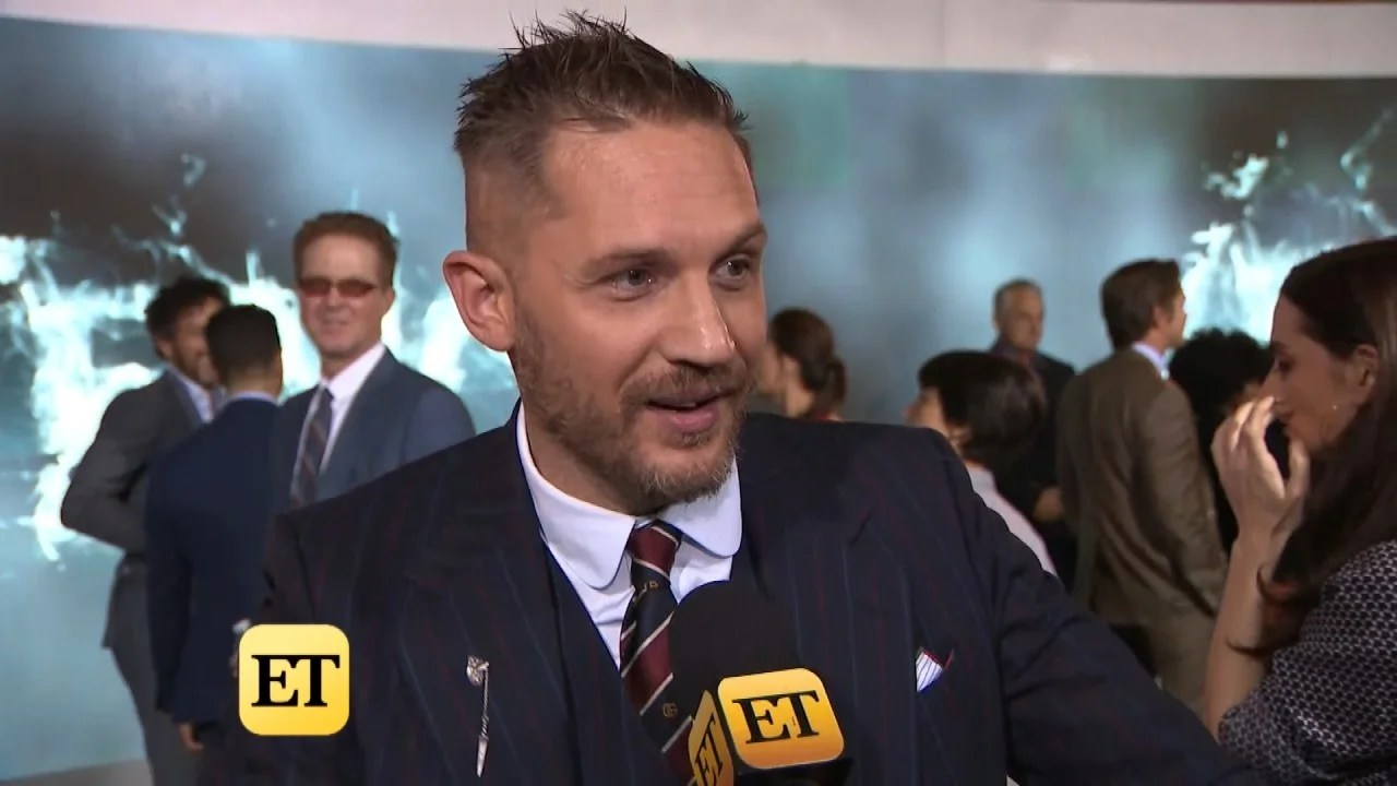 Tom Hardy Says His 10 Year Old Son Told Him When He Wasn T
