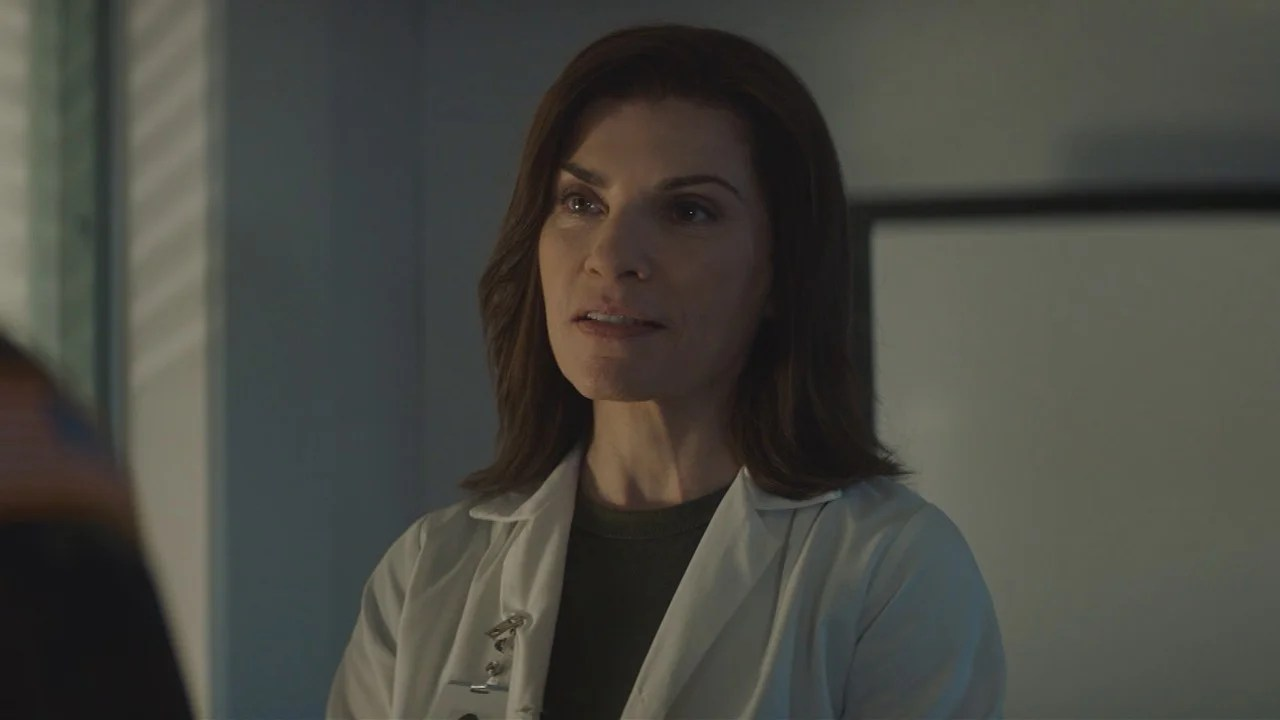 Julianna Margulies Puts a Sergeant in His Place in 'The Hot Zone' First Look (Exclusive) | Entertainment Tonight
