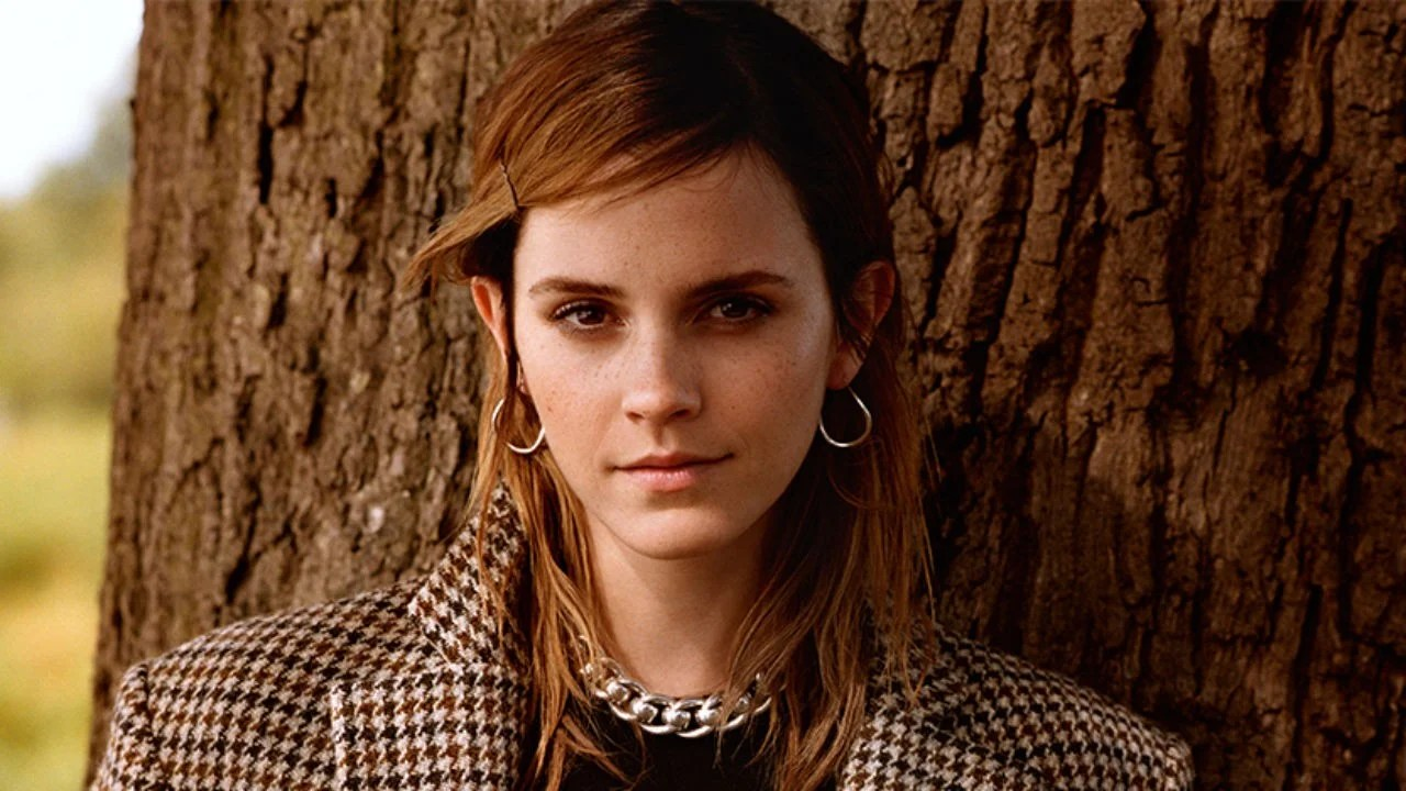 Emma Watson Calls Herself Self Partnered Talks Stress