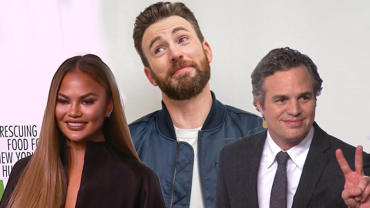 Mark Ruffalo And Chrissy Teigen Respond To Chris Evans