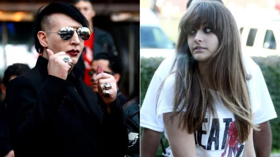 Marilyn Manson Dedicates Song to Paris Jackson  Entertainment Tonight