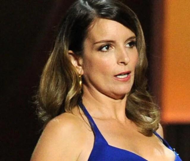 Tina Fey Flashes Pic Of Emmy Nip Slip
