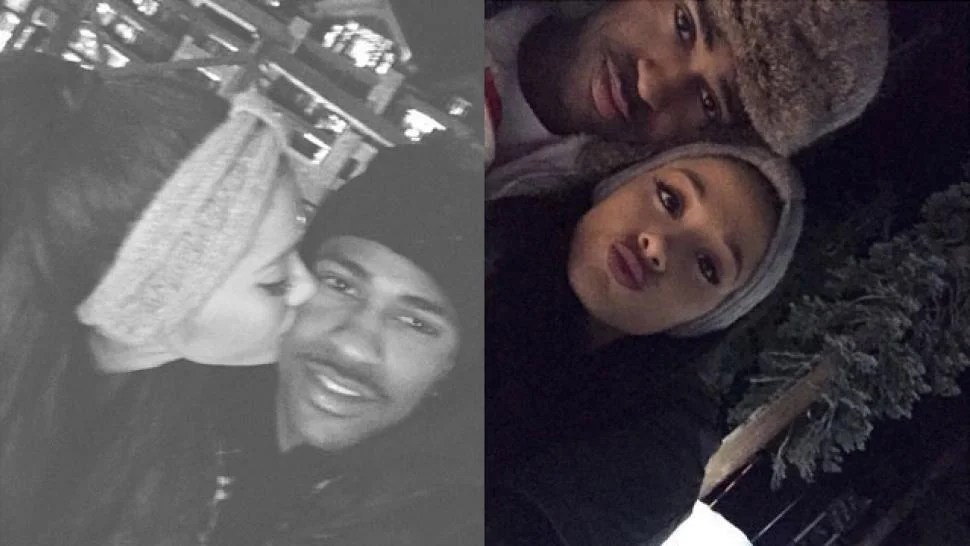 Ariana Grande Puts Big Sean Split Rumors to Rest with PDA Pics  Entertainment Tonight