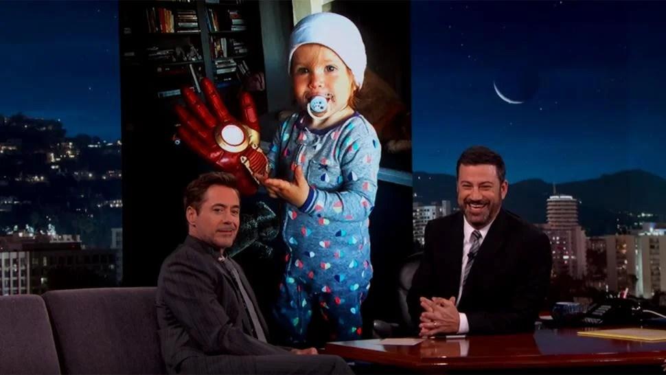 Cartoon Girl Live Wallpaper Icon Robert Downey Jr S Daughter Adorably Reveals She S Team