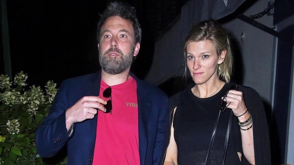 Ben Affleck And Lindsay Shookus Enjoy A Casual Night Out