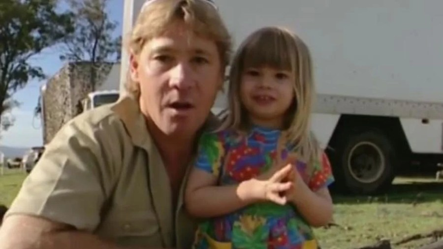 Bindi Irwin Shares Adorable Video of Late Dad Steve on ...