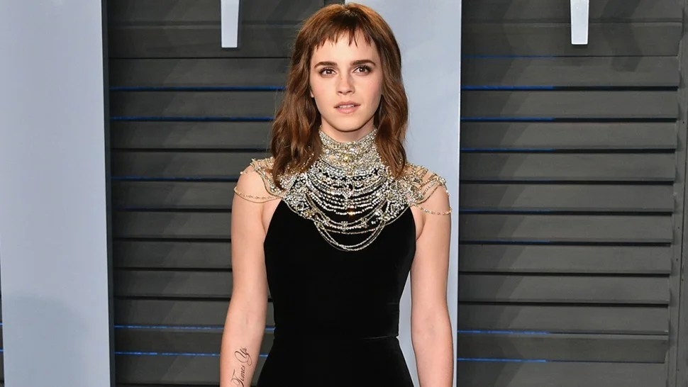 Emma Watson Jokes She Needs A Fake Tattoo Proofreader