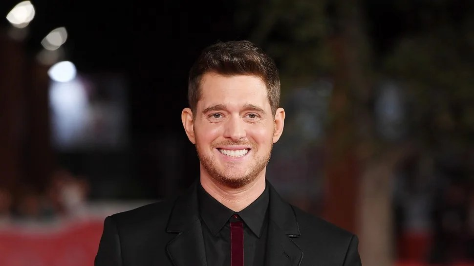 michael buble announces first