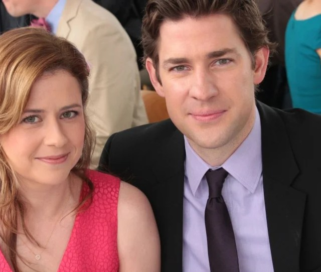 The Office Stars John Krasinski And Jenna Fischer Are Feuding Over The Stanley Cup Finals