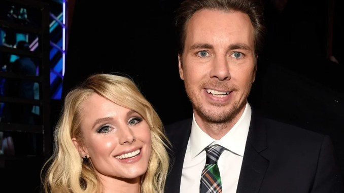 Kristen Bell and Dax Shepard at the 2017 People's Choice Awards