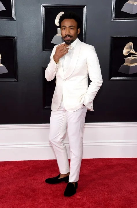 Childish Gambino at 2018 GRAMMYs