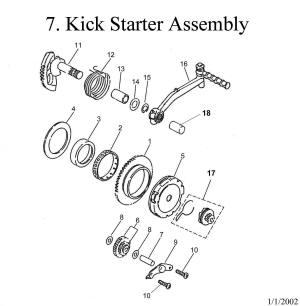 Kick Start Assembly Eton Viper RXL 50